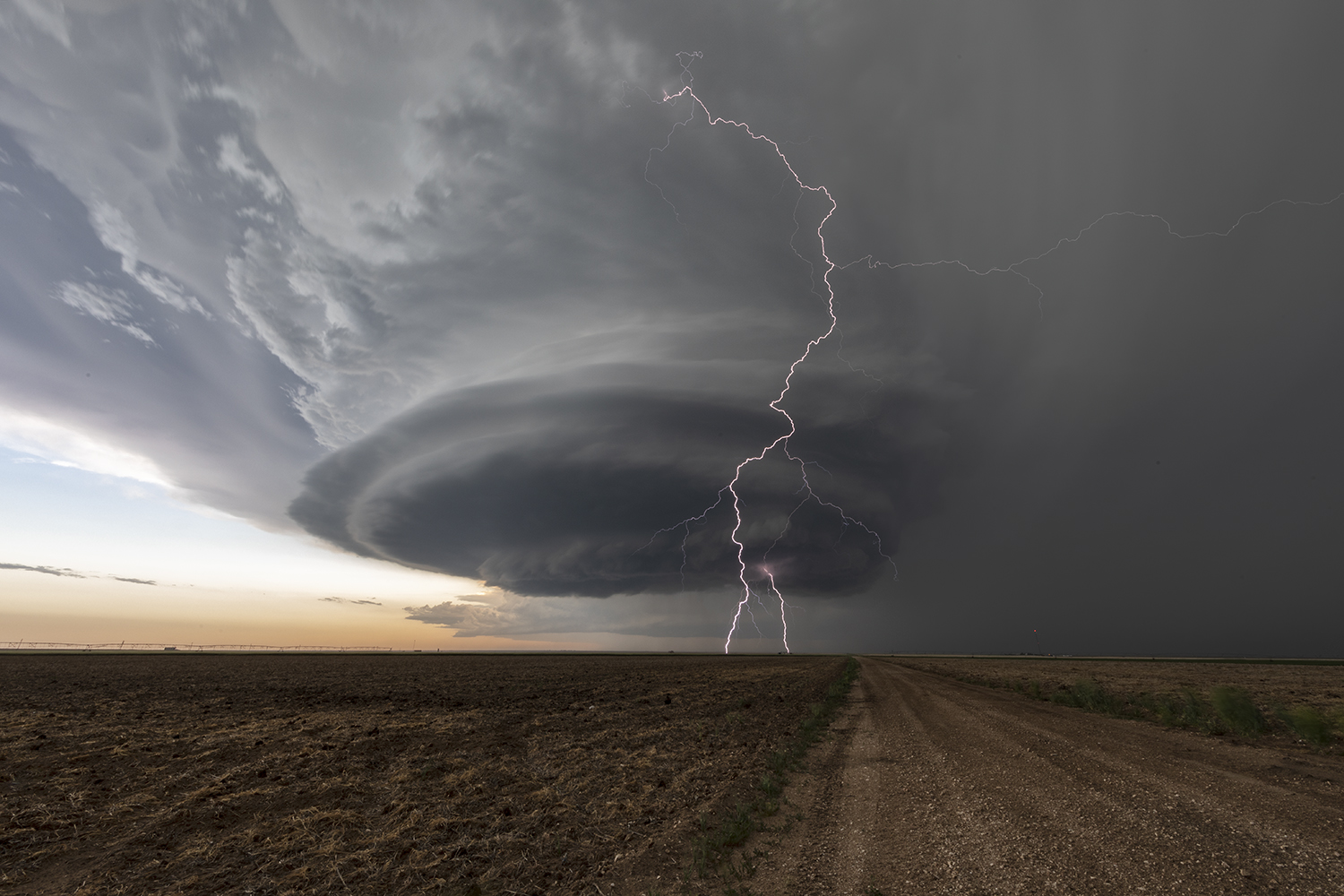 Beautiful supercell in Kansas