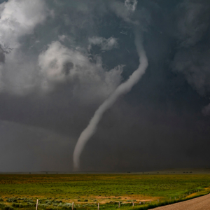 long white rope tornado