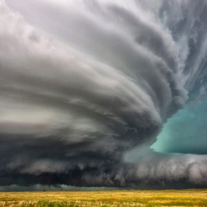 beautiful supercell in Nebraska