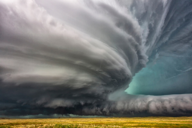 supercell near Valentine, Nebraska