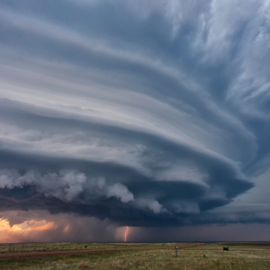 A supercell in South Dakota